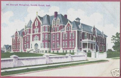 Primary image for SOUTH BEND INDIANA St Joseph Hospital IN