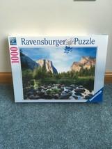 Ravensburger Yosemite Valley 1000 Piece Jigsaw Puzzle ADULTS SEALED - $17.54