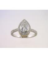 Pear Shape Diamond Engagement Ring - $4,650.00