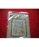 SOMETHING SPECIAL COUNTED CROSS STITCH KIT.  SEALED.  WISH YOU RAINBOWS. - $9.99