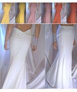 Mermaid Maxi Skirt, Long White Skirt, Pink Skirt, Yellow Skirt, Coral Skirt - $39.99