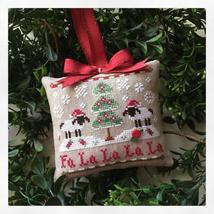 Fa La La #11 Classic Ornament cross stitch Country Cottage Needleworks - $5.40
