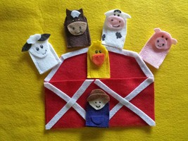 Old MacDonald Finger Puppets - $12.99