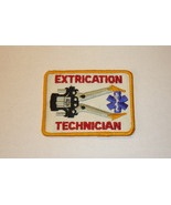 Extrication Technician Patch Paramedic EMT Jaws of Life Firefighting Fir... - $7.95