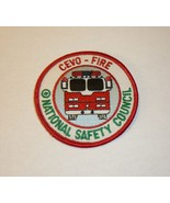 CEVO Fire National Safety Council Patch Fire Engine Firefighting Collect... - $4.95