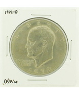 1972-D Eisenhower Dollar RATING: (F) Fine N2-2961-40 - $2.00