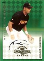 1998 donruss signature autograph millennium marks aramis ramirez basebal... - $9.99