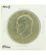1972-D Eisenhower Dollar RATING: (F) Fine N2-2961-44 - $2.00