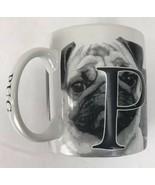 Americaware Pug Coffee Mug Raised Lettering 18oz. Best Friend Series - $26.72