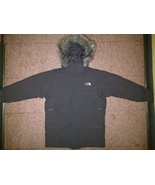 Boys North Face Gray Hyvent 550 Parka Snorkel McMurdo Jacket Coat Medium... - $199.99