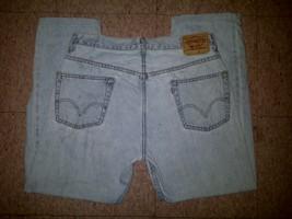 Levis 505 Regular Fit Stonewash Light Blue Denim Jeans Pants W36 L32 36 32 - $24.99
