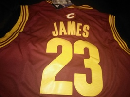 LeBron James Cleveland Cavaliers Jersey #23 Stitched All For One ONE FOR... - $22.95