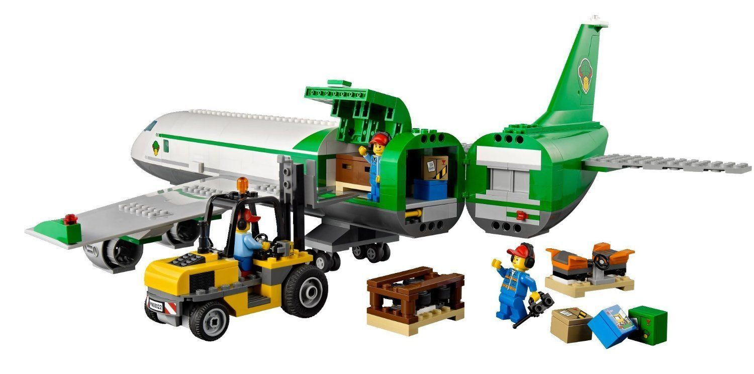 Lego Building Toys : Lego city cargo airport terminal kids toy building