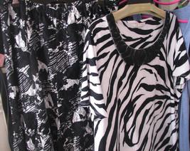 Dress JM Collection 2 Piece Dress Outfit Black & White SZ. SM TO MED - $45.00
