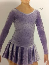 Mondor Model 2759 Skating Dress - Loops - Size Child 10-12 - $80.00