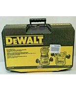DeWalt Router Fixed Base Plunge Combo Kit Variable Speed 12 Amp 2 ¼ HP D... - $193.05