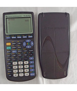 Texas Instruments TI-83 Plus Graphing Calculator + Cover Working Used Black - $49.49