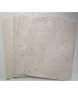 Handcrafted Paper 8 1/2 in x 11 in 12 Loose Sheets - $7.83