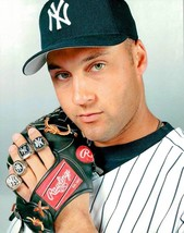 DEREK JETER-YANKEES 8 X 10 COLOR PHOTO #3 - $9.49
