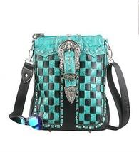 Montana West Concealed Handgun Collection Handbag-Turquoise - $44.54