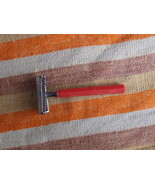 RARE VINTAGE SOVIET RUSSIAN USSR CURVED EDGE SAFETY RAZOR #27 - $45.04
