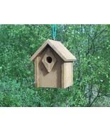Bluebird house,Cedar Built,with Clean-out Predator prof - $38.99