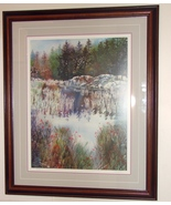 Gary Spetz Ltd Ed Signed Numbered Watercolor Print  - $179.00