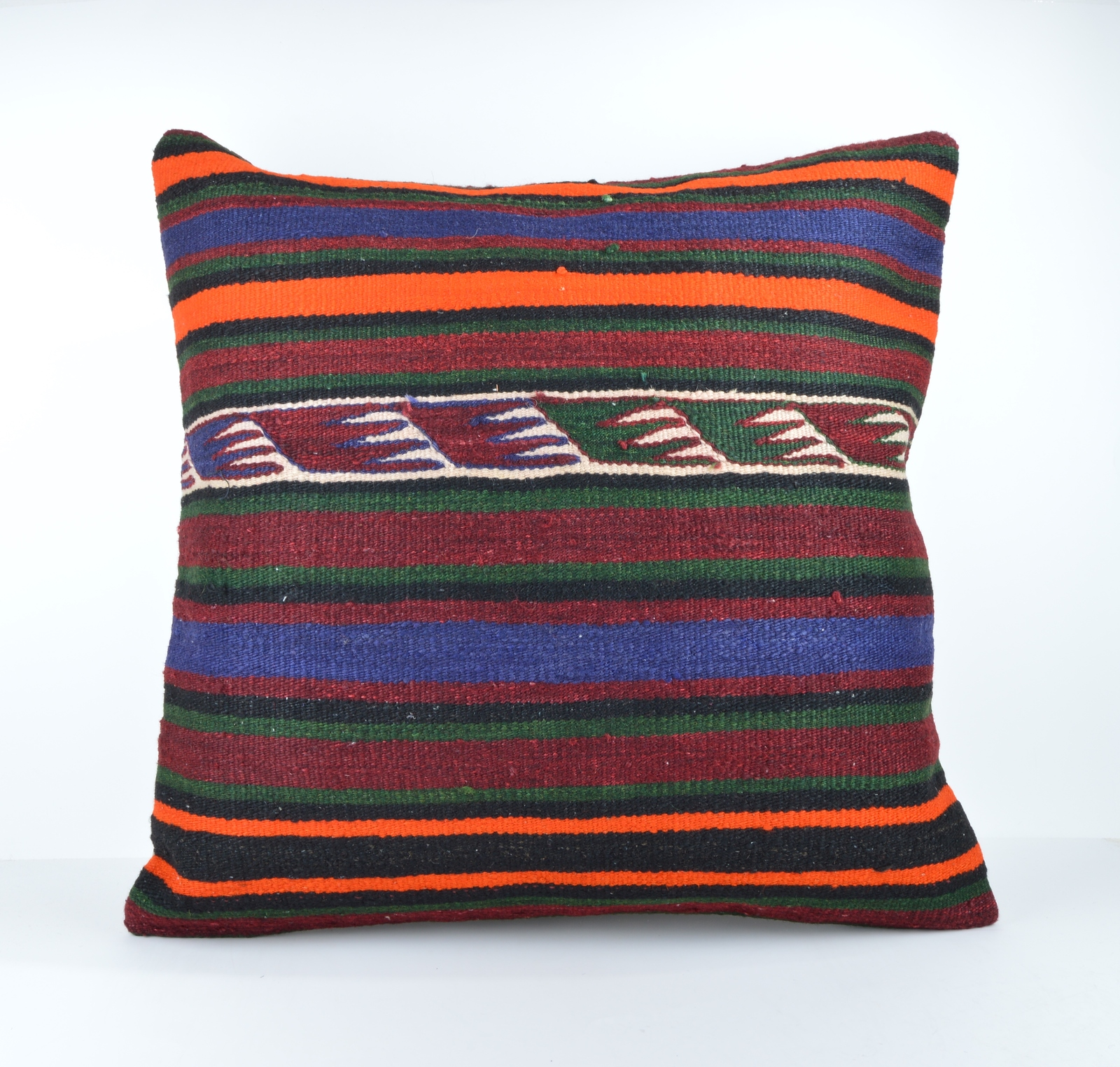 24x24 large kilim pillow big pillow decorative pillow cover large cushion case - Pillows