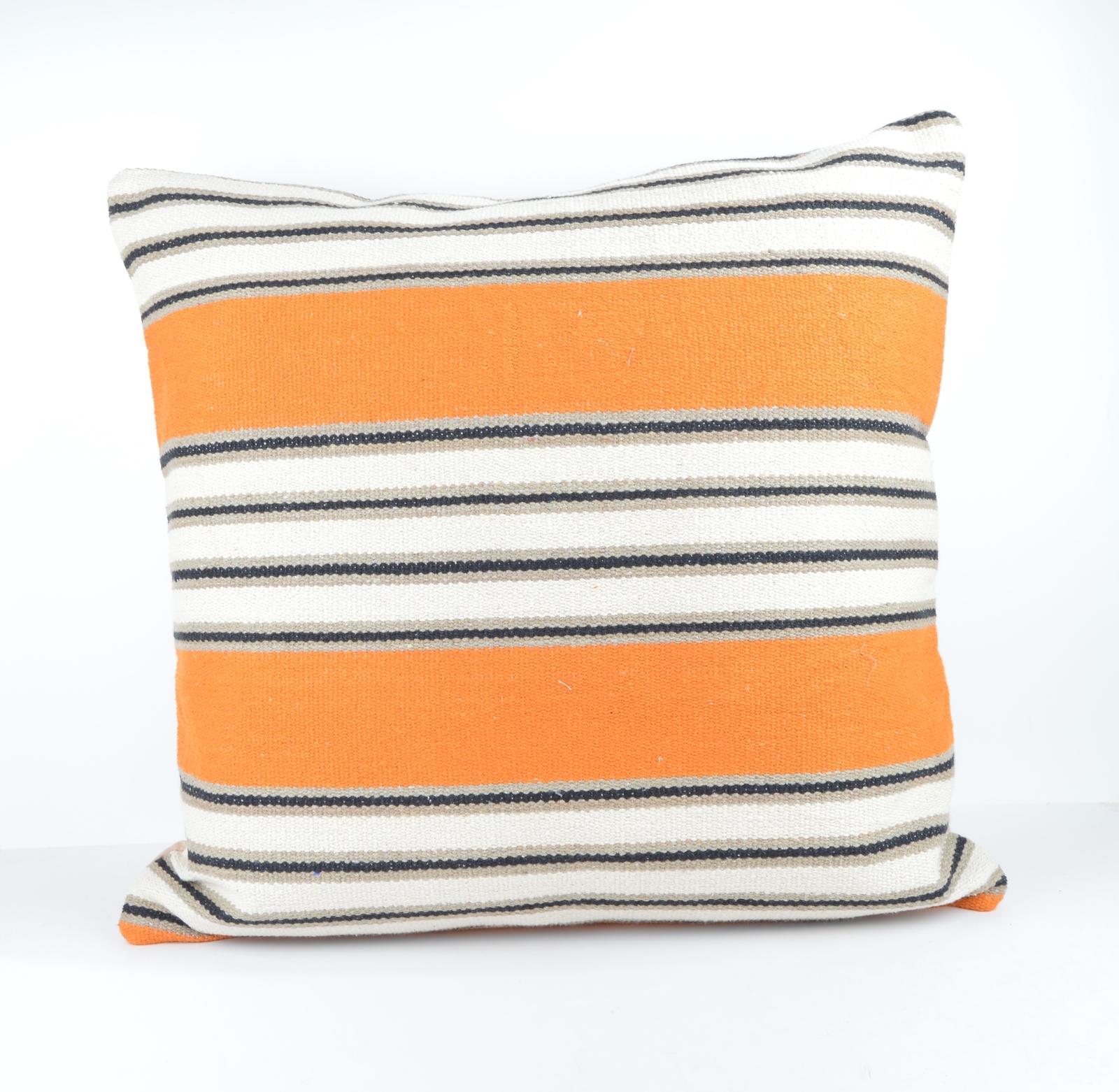 24x24 large kilim pillow big pillow decorative pillow cover large cushion case - Decorative ...