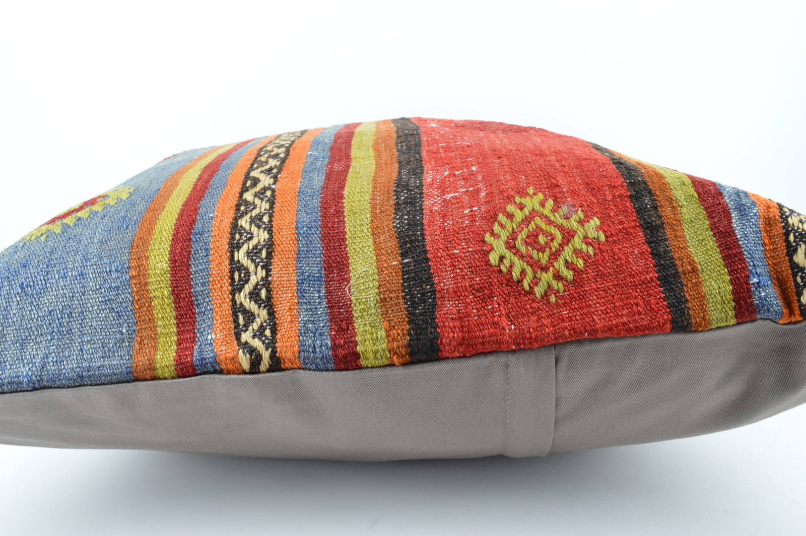 24x24'' large kilim pillow big pillow decorative pillow cover large cushion case