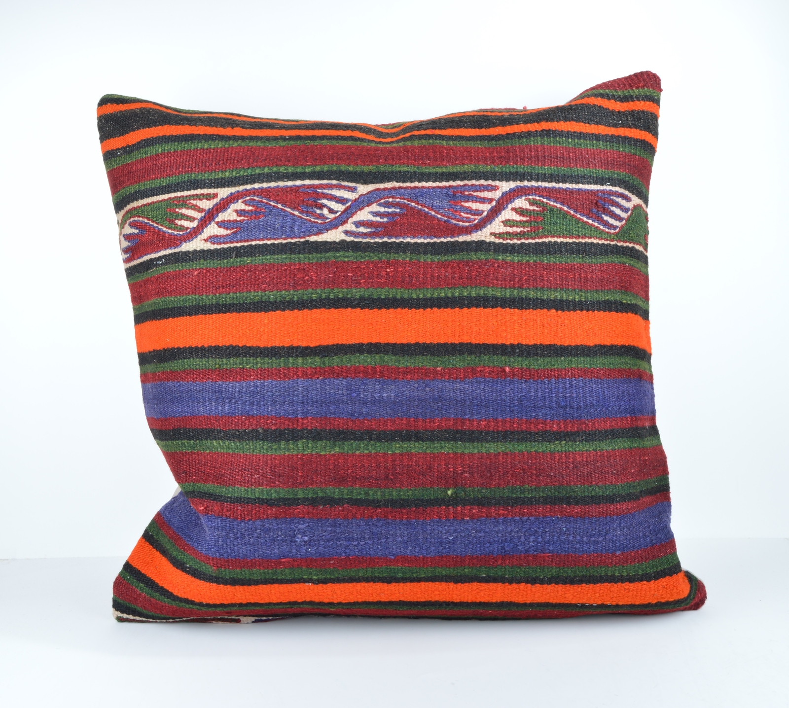 Oversized Decorative Pillow Covers : 24x24 large kilim pillow big pillow decorative pillow cover large kilim cushion - Pillows