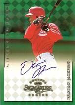 1998 donruss signature autograph millennium marks damian jackson basebal... - $9.99