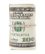 ROLL $100 BILLS MONEY CASINO PARTY CARDBOARD STANDUP CUTOUT PROP LICENSE... - $42.99
