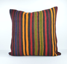 24x24'' large kilim pillow big pillow decorative pillow cover large cush... - $32.00
