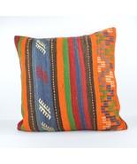 24x24'' large kilim pillow big pillow decorative pillow cover large cush... - $75.00