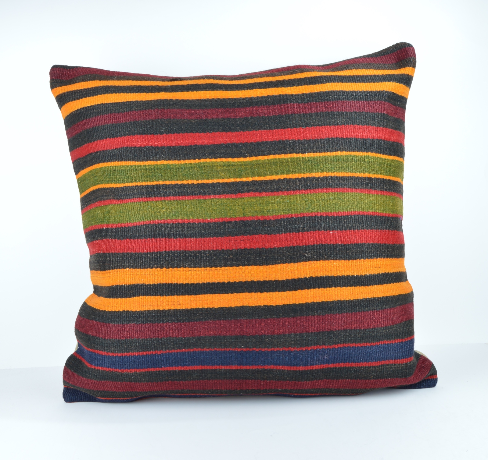 Large Throw Pillow Cases : 24x24 large kilim pillow big pillow decorative pillow cover large cushion case - Pillows