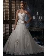 Darius Cordell #BDW-015 | Classic Pleated Weddi... - $838.13