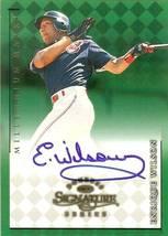 1998 donruss signature autograph millennium marks enrique wilson basebal... - $9.99