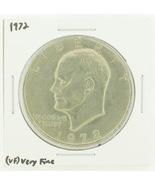 1972 Eisenhower Dollar RATING: (VF) Very Fine N... - $3.00