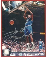 SHAQUILLE  O'NEAL   HAND  SIGNED   SILVER  AUTHENTIC  AUTOGRAPHED   8 X ... - €88,76 EUR