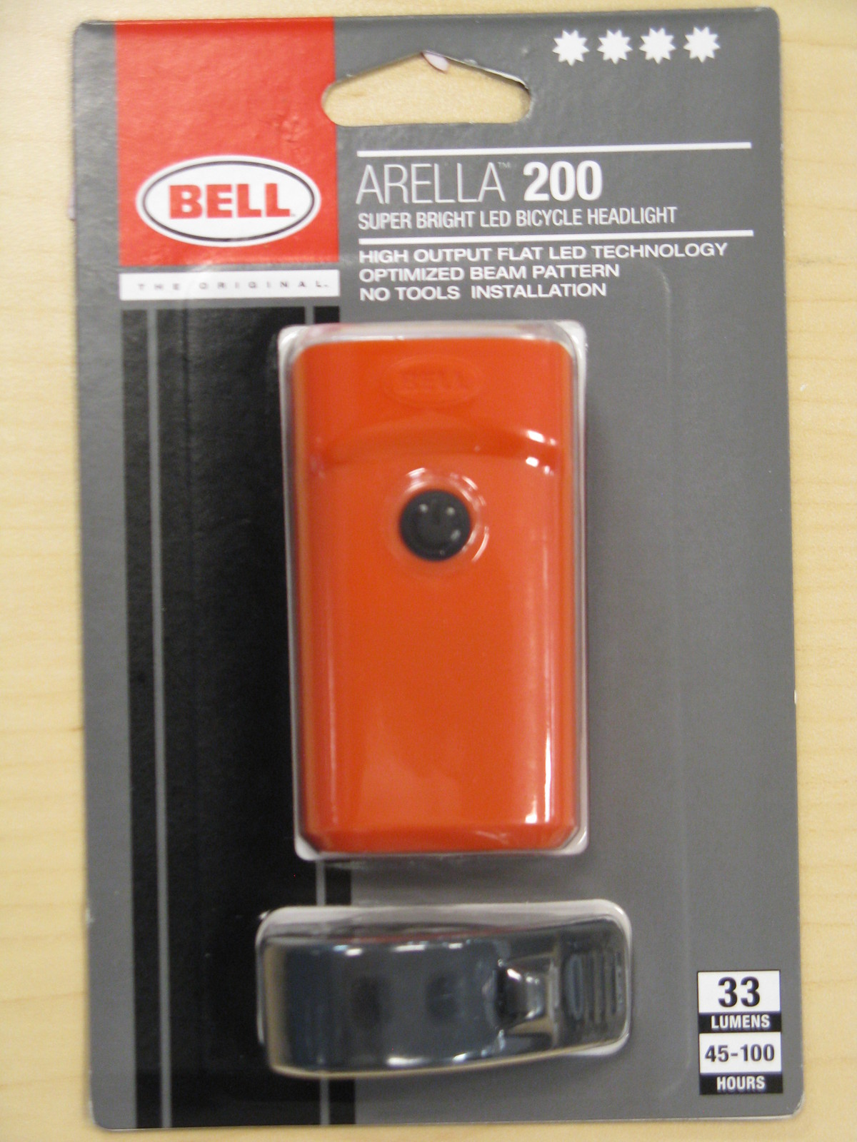 NEW Bell Arella 100 Bicycle Tail light 4 Lumens Super Bright