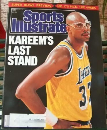 Sports illustrated jan 23 1989 kareems last stand