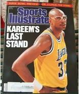 Sports Illustrated January 23 1989 Kareem's Last Stand - $4.99