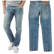 Men Levi 511 Slim Fit Low Rise Jeans Size W29 x L32 Color Broken In RRP $69.50 - $22.99