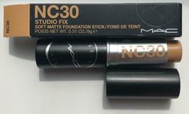 MAC Studio Fix Soft Matte Foundation Stick NC30 - NEW IN BOX - $22.99