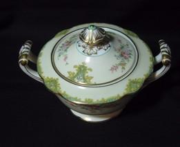 Noritake Rosamund 1930's Sugar Bowl w/lid   RAR... - $41.84