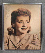 """ANNE SHIRLEY AUTOGRAPHED 8x10 Sepia Photo Print Signed & Inscribed """"All My Love"""" - $33.00"""
