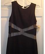 Ladies Size L Black Long Bodycon Sleeveless Dre... - $29.99