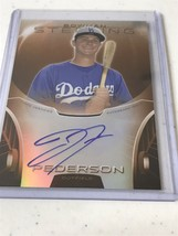 JOC PEDERSON 2013 BOWMAN STERLING AUTOGRAPH ORANGE REF 75 AUTO Lot Of 2 - $34.64