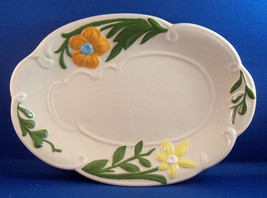 Handpainted Ceramic Decorative Candy Dish/Platter - $3.95